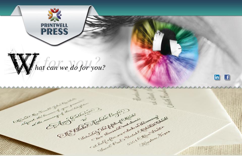 Printwell Press Wedding Card Printing Printers For Stationery Getting Invites Printed
